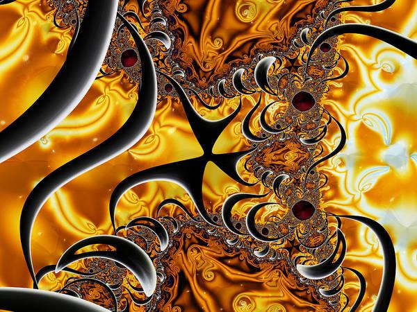 Digital Art - Shell Shock by Jeff Iverson