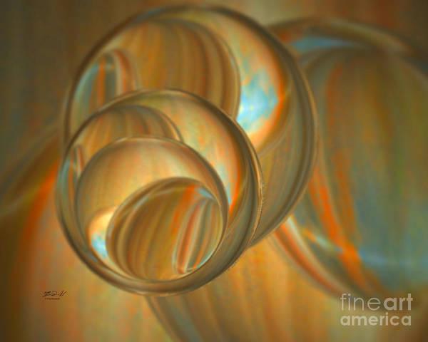 Digital Art - Shell Sphere by Rob Mandell