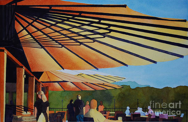 Wall Art - Painting - Shelter by Annette McGarrahan