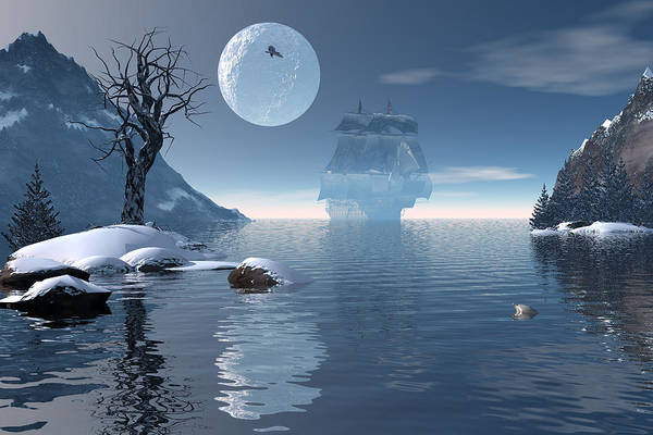 Shipwreck Digital Art - Shelter Bay by Claude McCoy