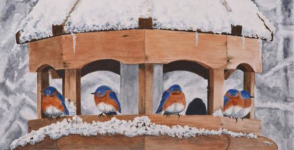 Painting - Shelter From The Storm by Deborah Brown Maher