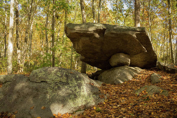 Photograph - Shelter Rock In Gales Ferry Ct by Kirkodd Photography Of New England