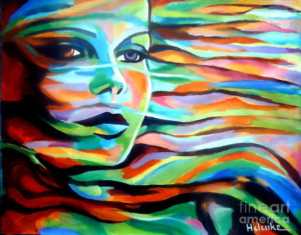 Painting - Sheltered By The Wind by Helena Wierzbicki