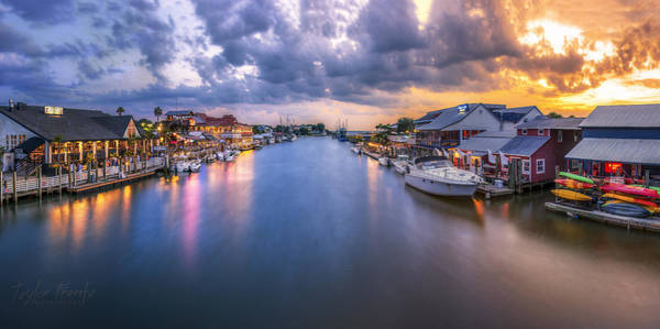 Sc Wall Art - Photograph - Shem Creek by Taylor Franta