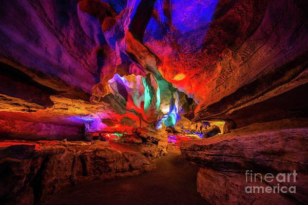 Cavern Photograph - Shenandoah Caverns  by Michael Ver Sprill