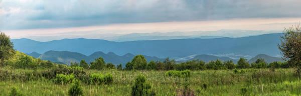 Photograph - Shenandoah Meadow Pano by Jemmy Archer