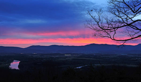 Photograph - Shenandoah River December Glow by Lara Ellis