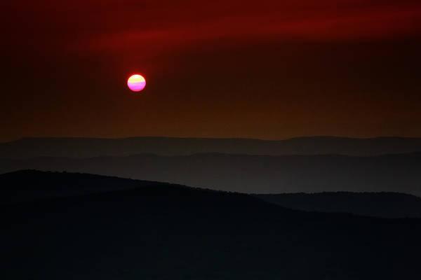 Shenandoah Wall Art - Photograph - Shenandoah Sunset by Rick Berk
