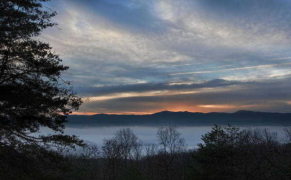 Photograph - Shenandoah Valley Christmas Morning 2015 by Lara Ellis