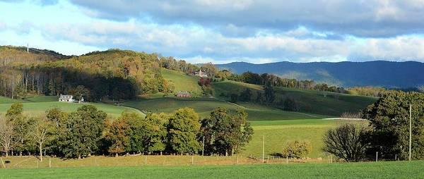 Rockbridge County Photograph - Shenandoah Valley Virginia by Todd Hostetter