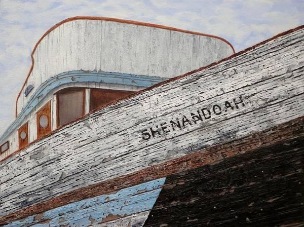 Tacoma Painting - Shenandoah by Xochi Hughes Madera