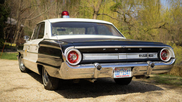 Wall Art - Photograph - Sheriff's Car by Michael Weber