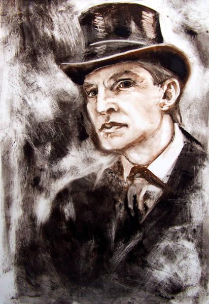 Wall Art - Painting - Sherlock Holmes by Leyla Munteanu