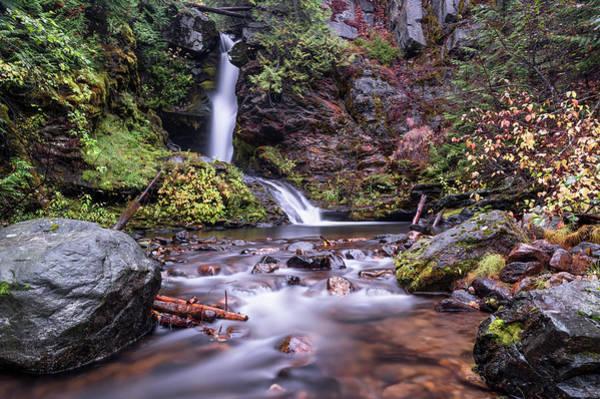 Photograph - Sherman Creek Falls by Harold Coleman