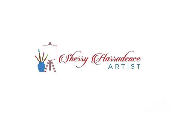 Digital Art - Sherry Harradence Logo by Sherry Harradence