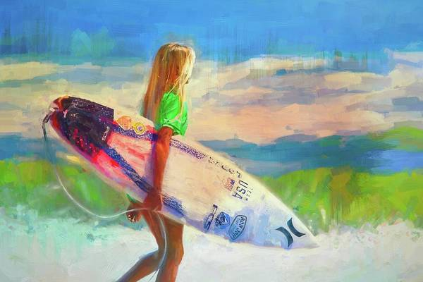 Photograph - She's An Endless Summer by Alice Gipson