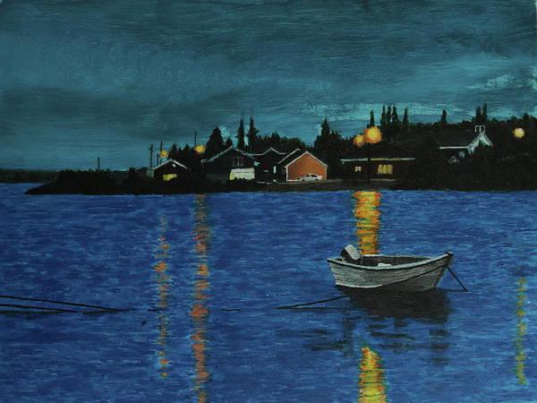 Painting - Sheshatshiu by Thom Barker