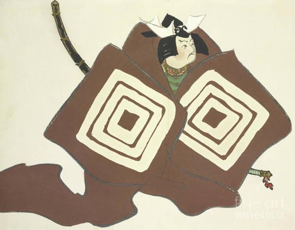 Kabuki Painting - Shibaraku by Kamisaka Sekka