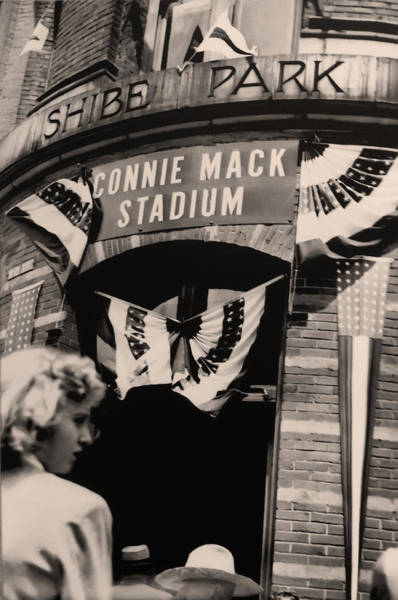 Mack Photograph - Shibe Park - Connie Mack Stadium by Digital Reproductions