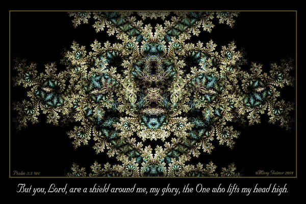 Digital Art - Shield Around Me by Missy Gainer