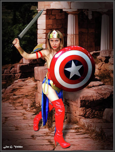 Photograph - Shield Of Truth Sword Of Justice by Jon Volden