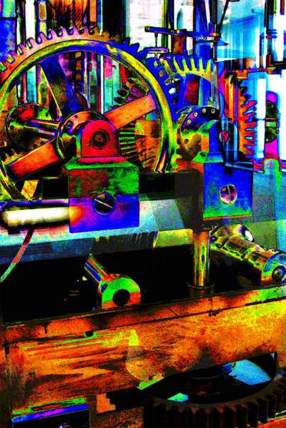 Kammerer Wall Art - Photograph - Shifting Gears by Colleen Kammerer