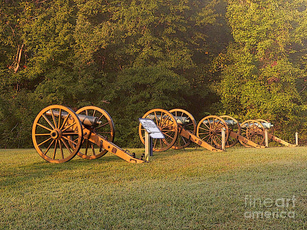 Wall Art - Photograph - Shiloh Cannons by David Bearden