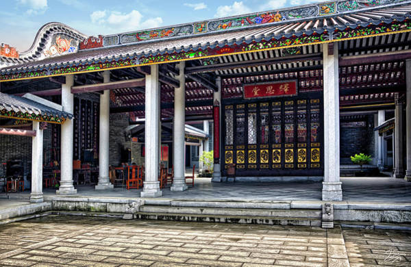 Photograph - Shilong Temple by Endre Balogh