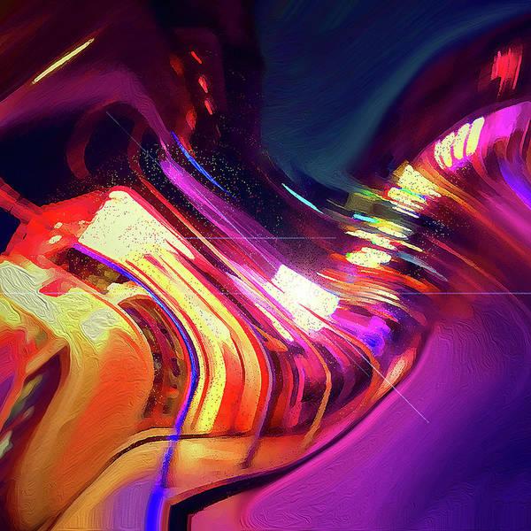 Digital Art - Shimmer by Gina Harrison
