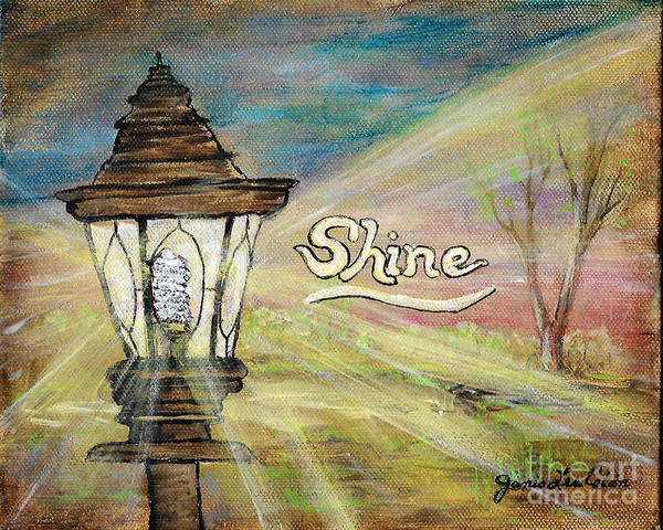 Painting - Shine by Janis Lee Colon