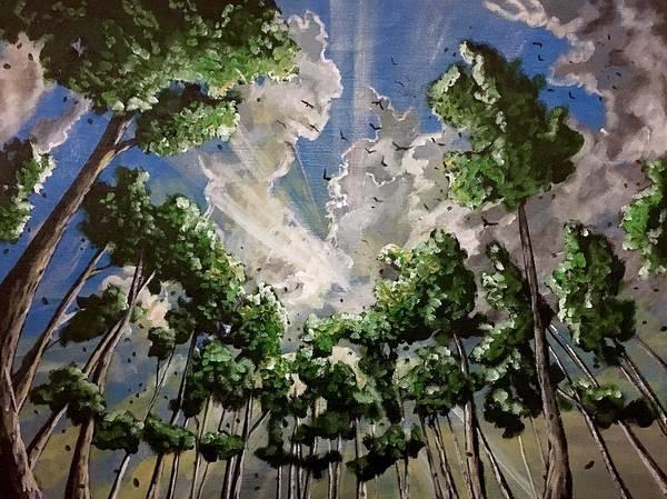 Painting - Shine by Joel Tesch