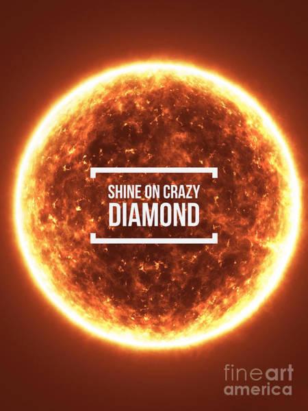 Photograph - Shine On Crazy Diamond by Edward Fielding