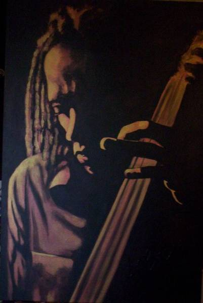 Sax Painting - Shine On Me by LaBadie