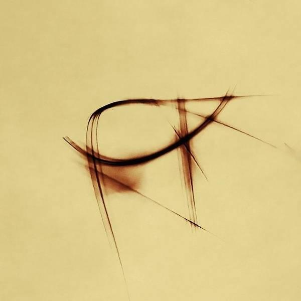 Photograph - Shining Glyph #07 by Dutch Bieber