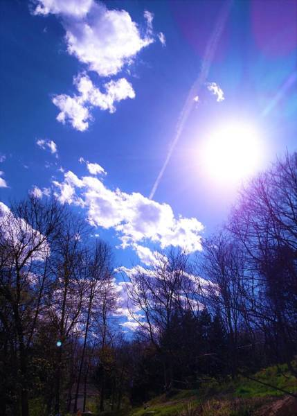 Little Things Photograph - Shining Over by Katie Way