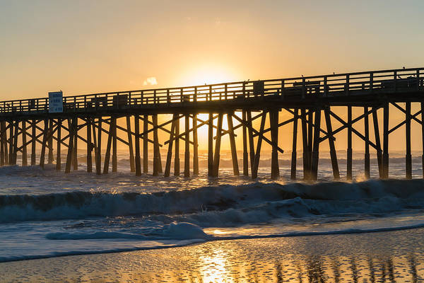 Flagler Beach Photograph - Shining Through by Kristopher Schoenleber