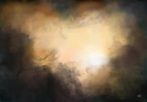 Digital Art - Shining Through The Darkness by Daniel Eskridge