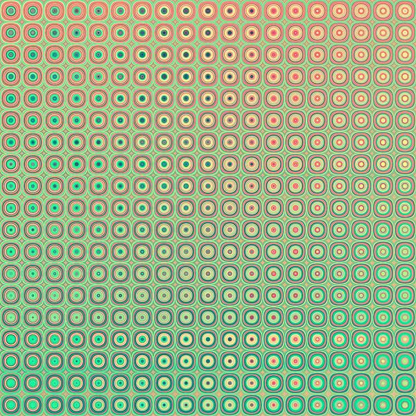 Pale Blue Dot Wall Art - Digital Art - Shiny Buttons Retro Pattern by Nesting Doll