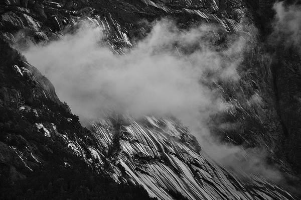Photograph - Shiny Rock And Cloud by David Resnikoff
