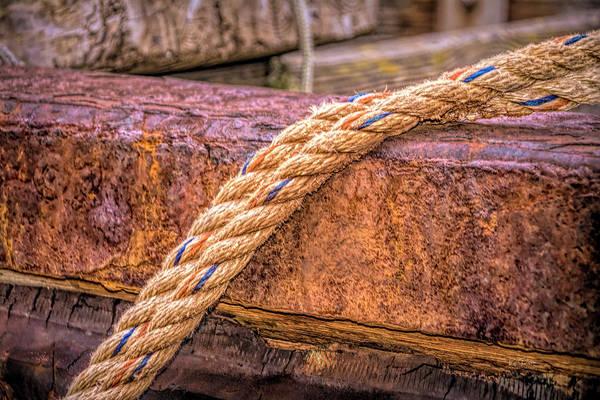Photograph - Ship Art 051518 by Bill Posner