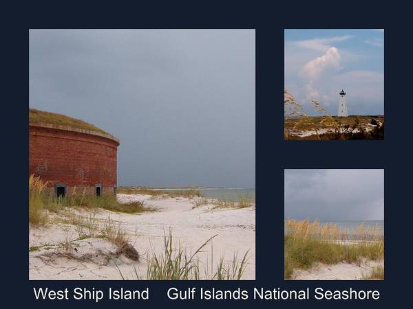 Photograph - Ship Island Poster by Kathy K McClellan