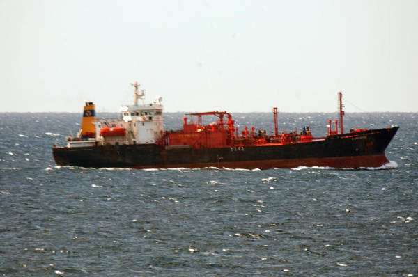 Wall Art - Photograph - Ship Leaving Galveston by Bill Perry