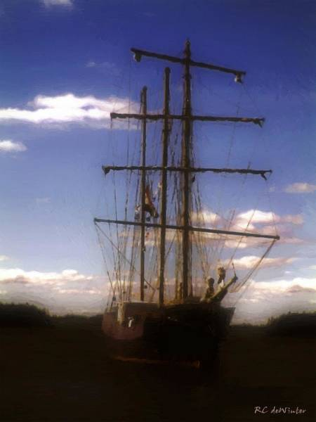 Prince Edward Island Painting - Ship Of Dreams by RC DeWinter