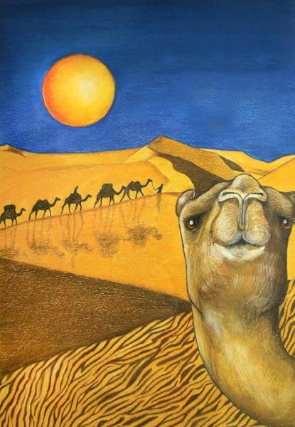 Ship Of The Desert Art Print