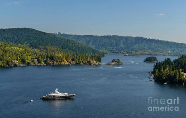 Wall Art - Photograph - Top View From The Quarry Rock In North Vancouver, Bc by Viktor Birkus