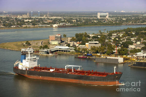Lower Ninth Ward Photograph - Shipping - New Orleans Louisiana by Anthony Totah