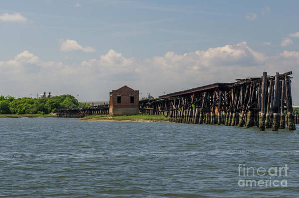 Photograph - Shipping Terminal by Dale Powell