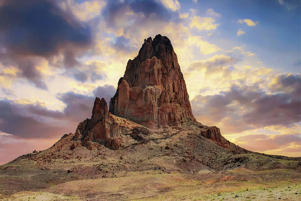 Photograph - Great Monolith Sunset - Monument Valley - American Southwest by Gregory Ballos