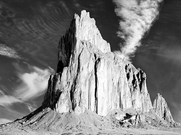 Photograph - Shiprock New Mexico by Dominic Piperata