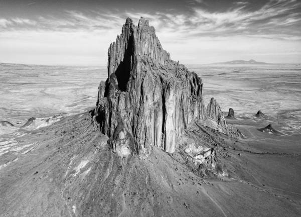 Photograph - Shiprock  by Rand